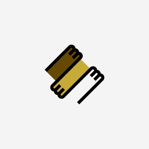 Logo mains